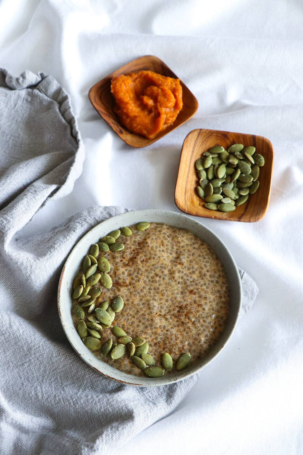 pumpkin spice chia pudding recipe