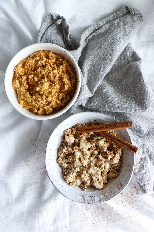 autumn overnight oats recipes