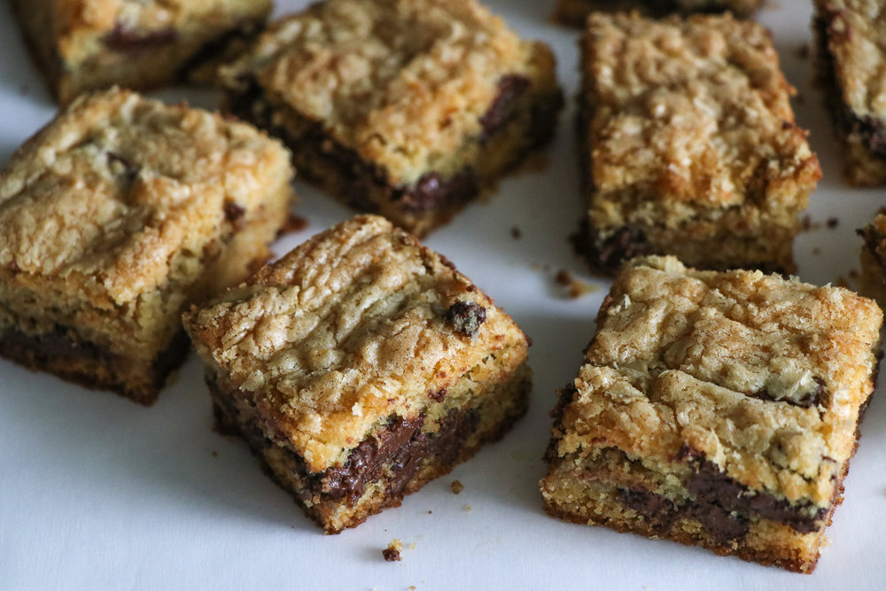 sunbutter cookie bars