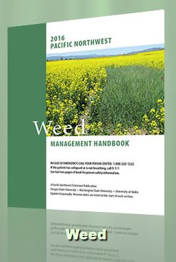 This handbook is designed as a quick and ready reference for weed control practices and herbicides used in various cropping systems or sites in Idaho, Oregon, and Washington.