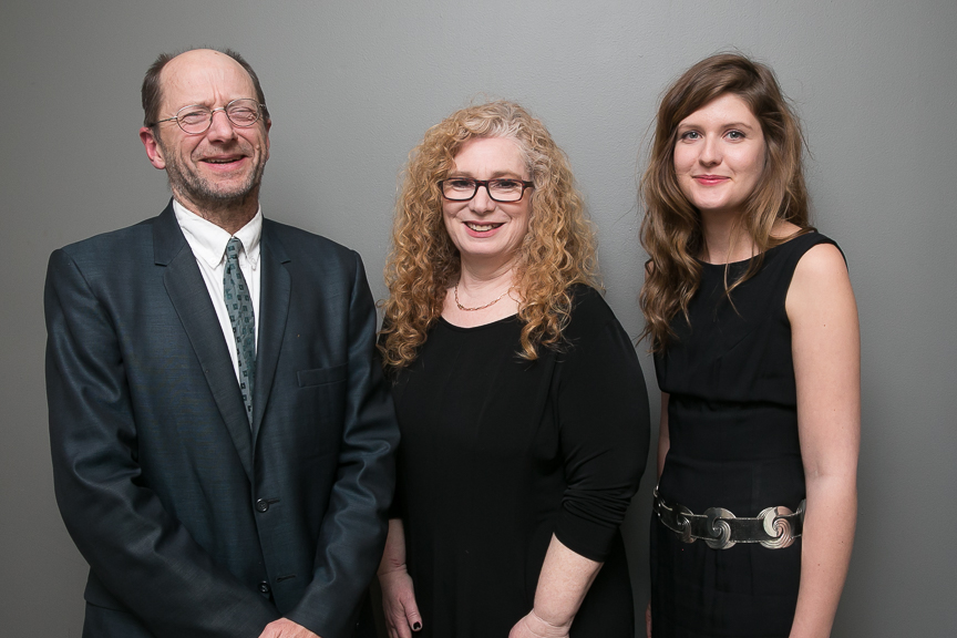 Rick Bass, Helen Maryles Shankman, and Anna Noyes. (Event photos by Beowulf Sheehan.)