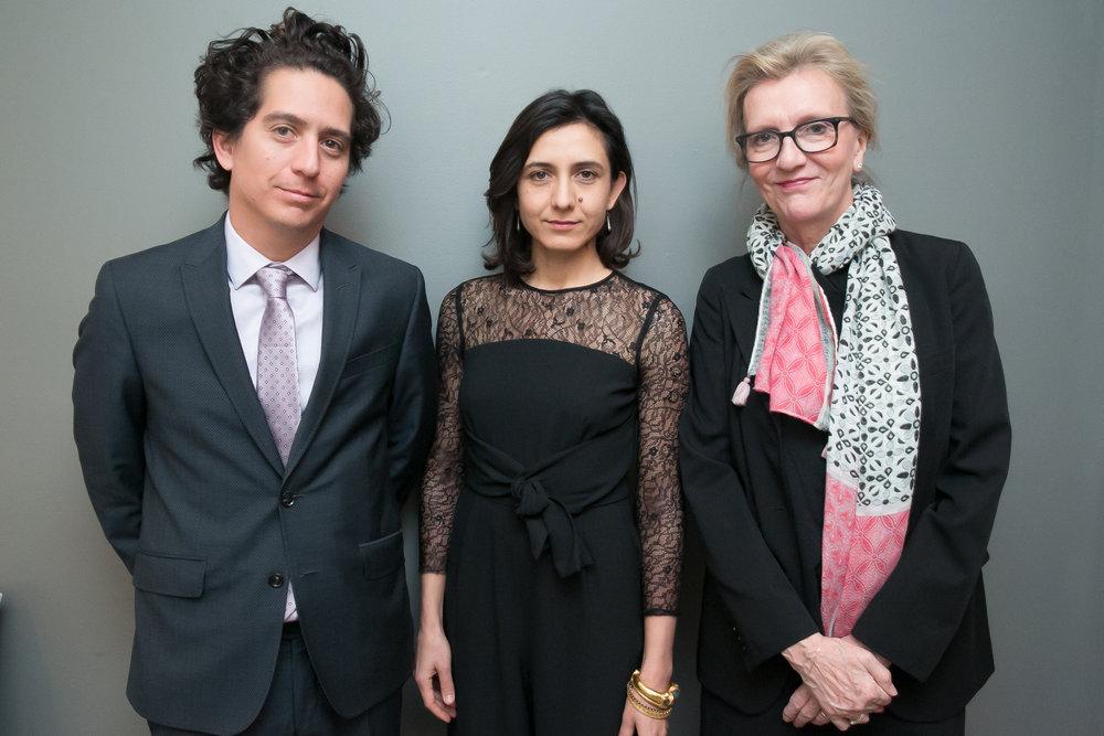 Daniel Alarcón, Ottessa Moshfegh, and Elizabeth Strout.