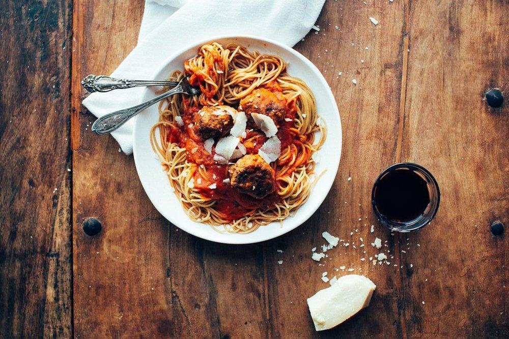 Pasta & Meatballs Tuesday