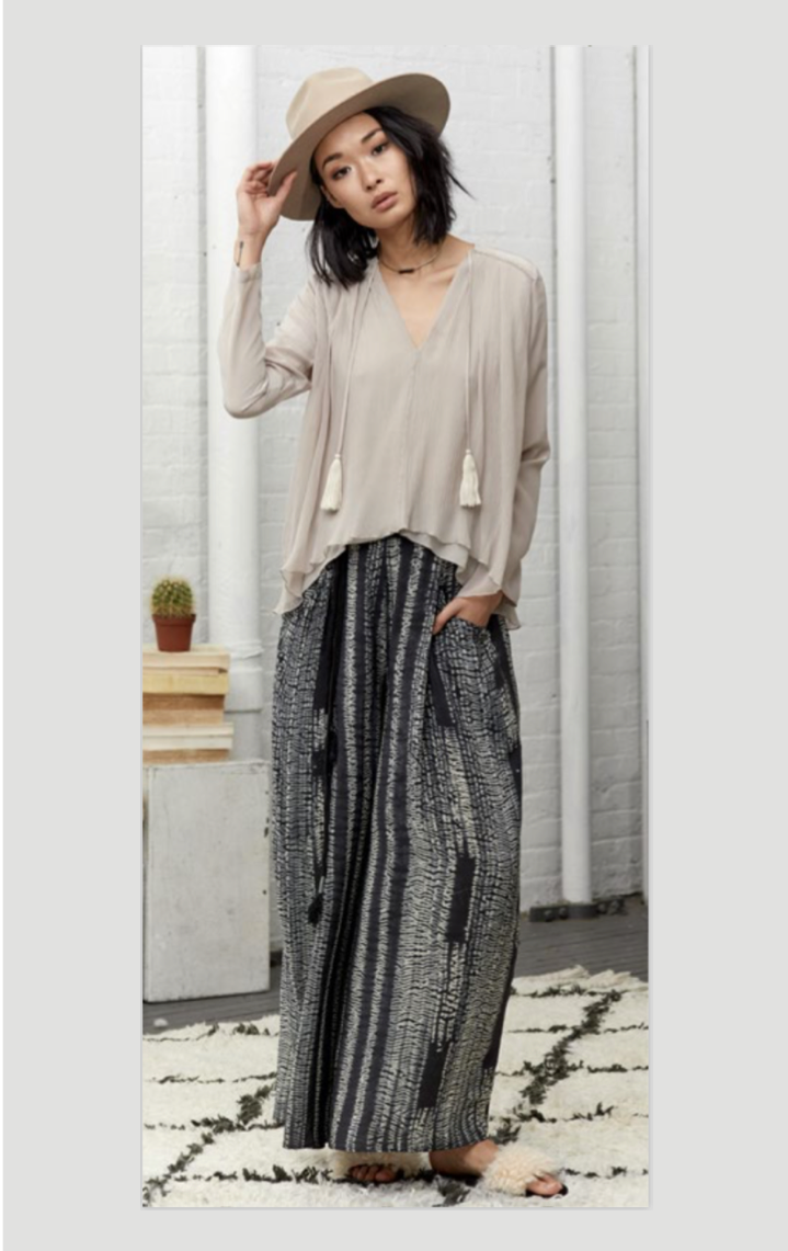 TESUJI WIDE LEG PANTS