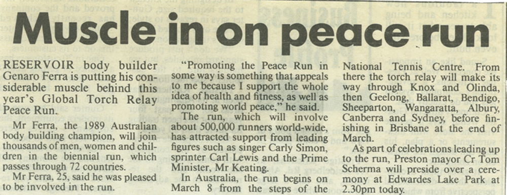 Herald Sun Australia, Charity Run