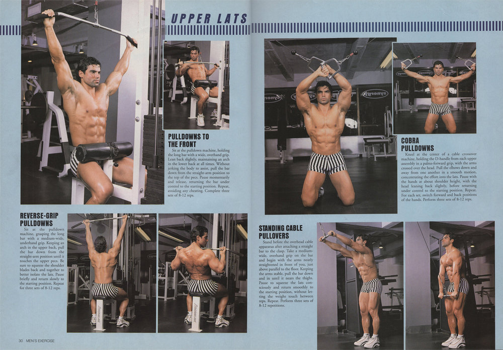Exercise For Men, Back routine