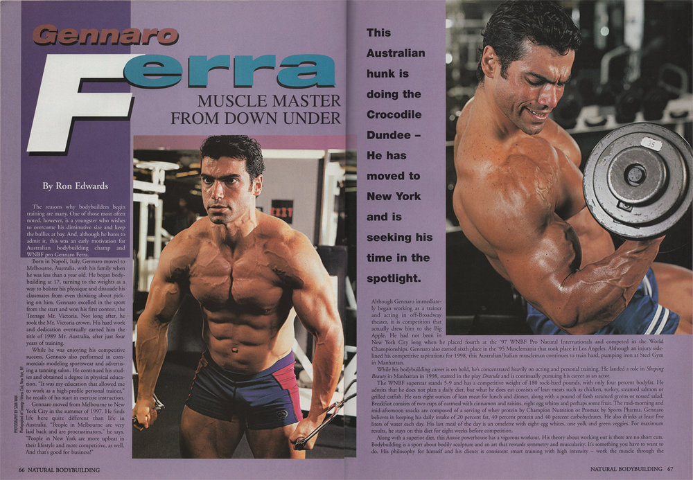 Natural Bodybuilding, Fitness, featured story