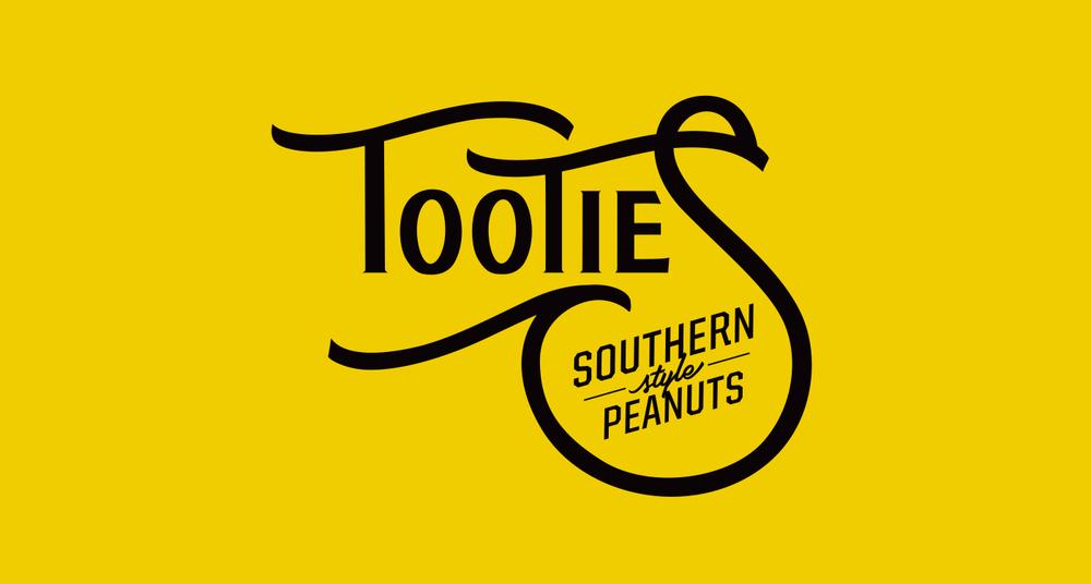 tootie s peanuts branding nate geon design