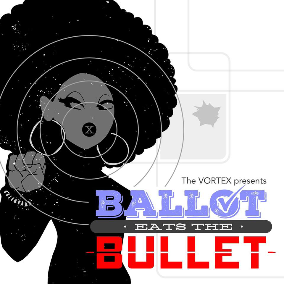 Sade M. Jones stars in Ballot Eats the Bullet.