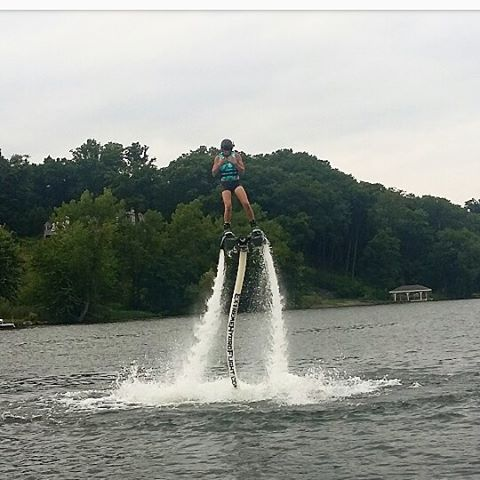 Amazing first time flyer at our saratoga location! #extremehydroflight #flyboard #upstateny #hydroflight
