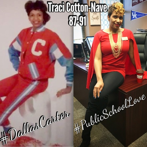 Carter High School Graduate Traci Cotton-Nave is the the Associate Principal, College and Career Readiness at Riverview Gardens High School in Ferguson, MO.