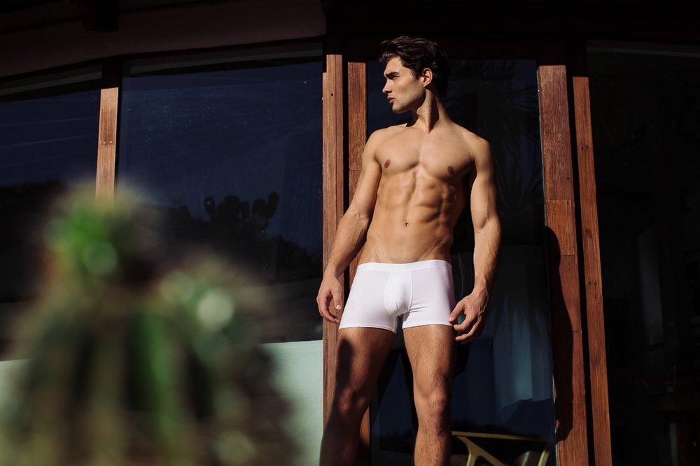 Atelier Traditionnel - classic white trunks