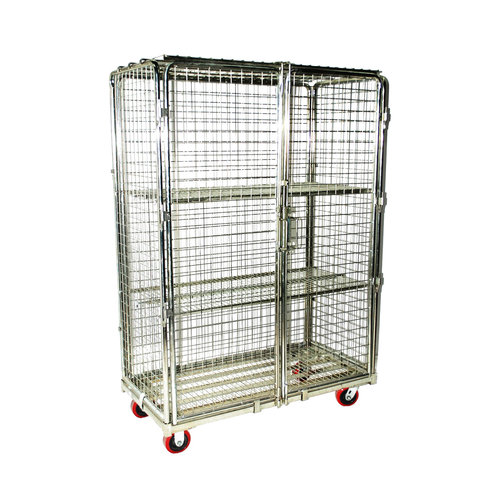 Wire Grid RC8 Security Cart | All Products | Midwest Wire Products