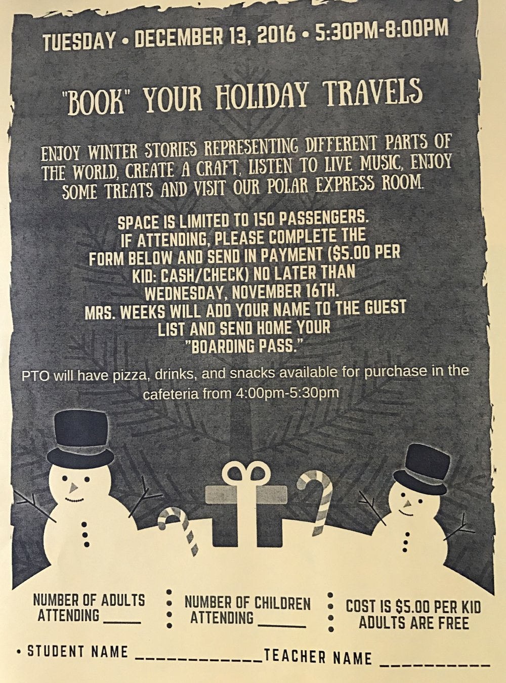Book Your Holiday Travel Event December 13 5 30 8pm Old Kings