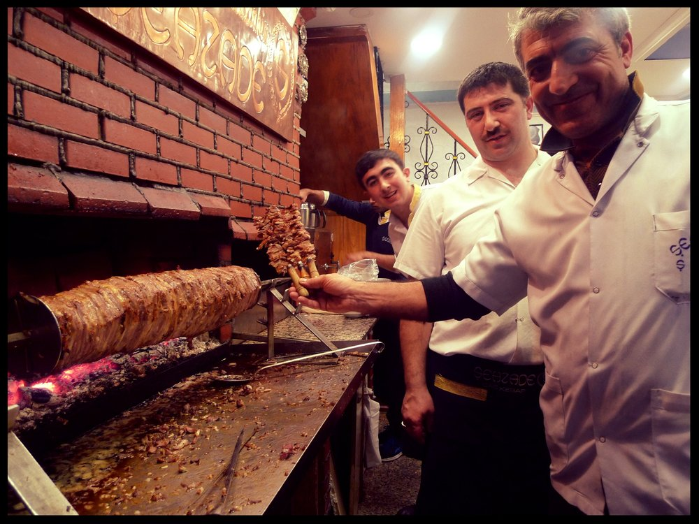 Sehzade Cag Kebap (look how kind they are to let me take their photo)