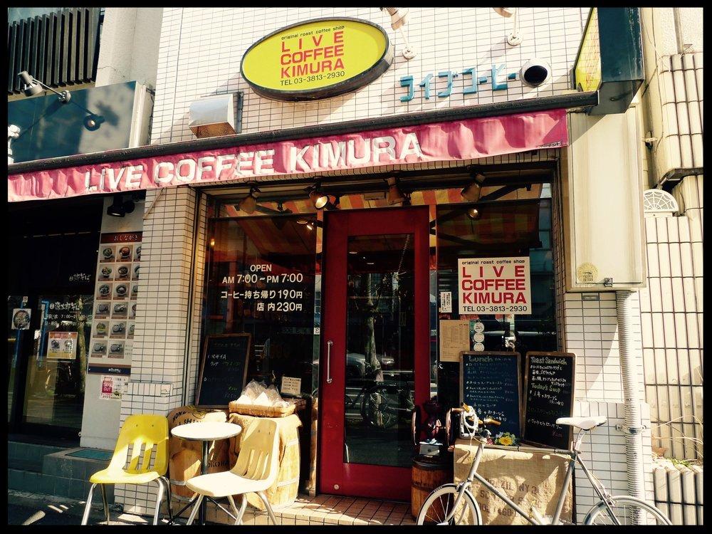 Live Kimura Coffee