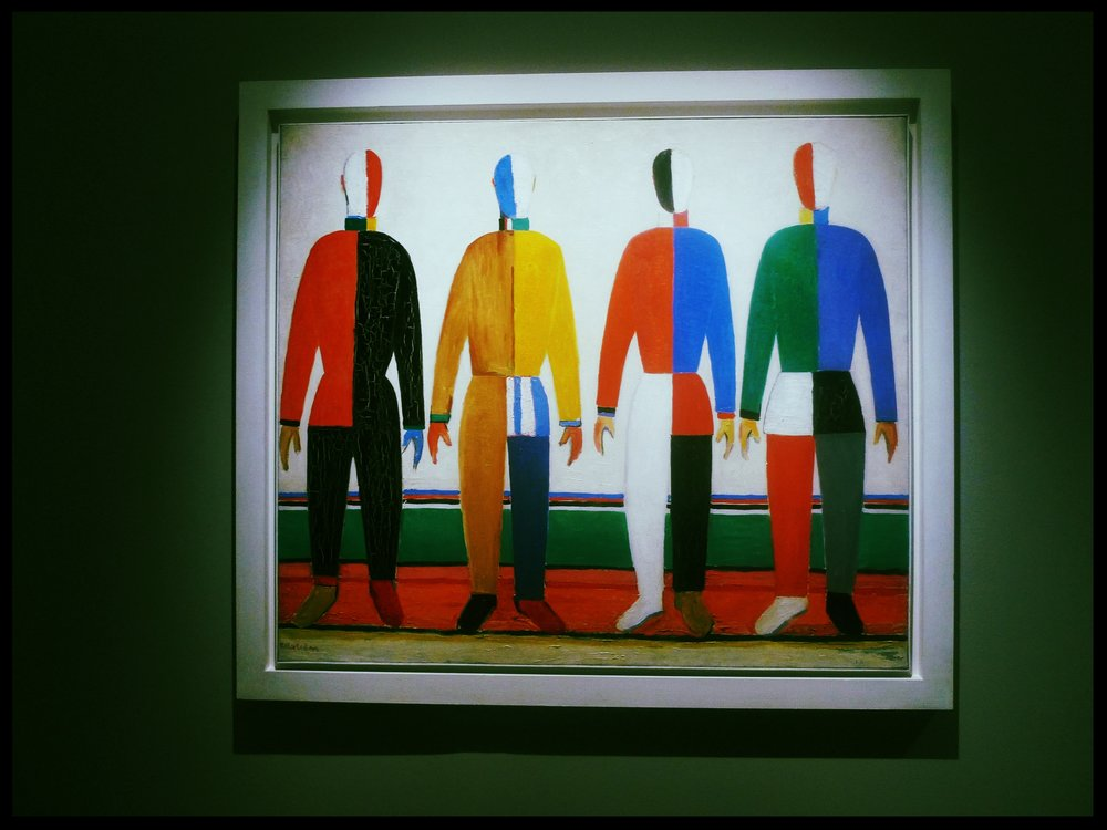 Artwork by Malevich