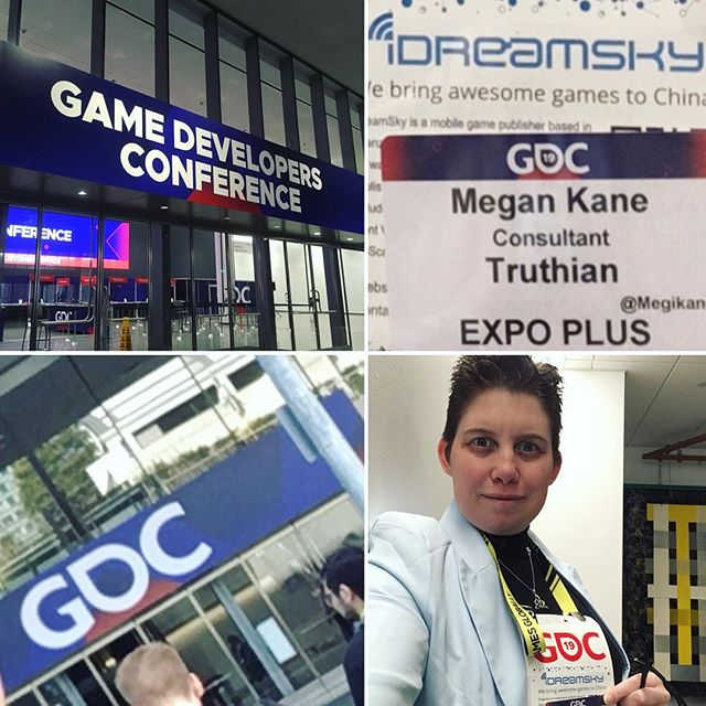 Truthian's first GDC! Hunting for interns!