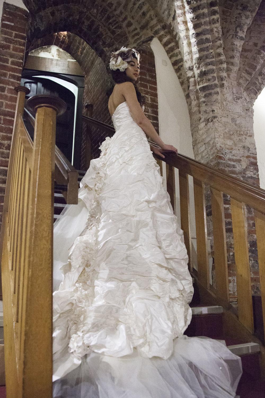 eco styled bride by kate elizabeth