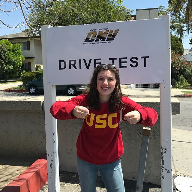"""Life is kind of like a car. It turns left, it turns right, it honks, it beeps, it squeaks, it LOVES. What kind of car will you be? Personally? I'm a Chevy CARE-ibu."" - Sabrina Brennan, USC (on tire monsters)"