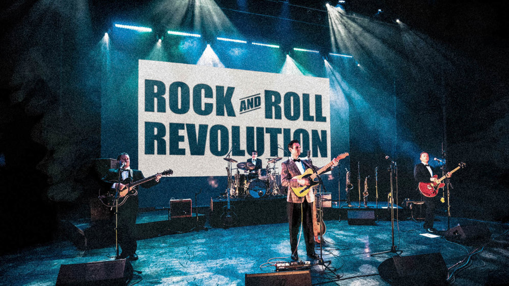 Rock and Roll Revolution. First preview performance - June 4th 2017.