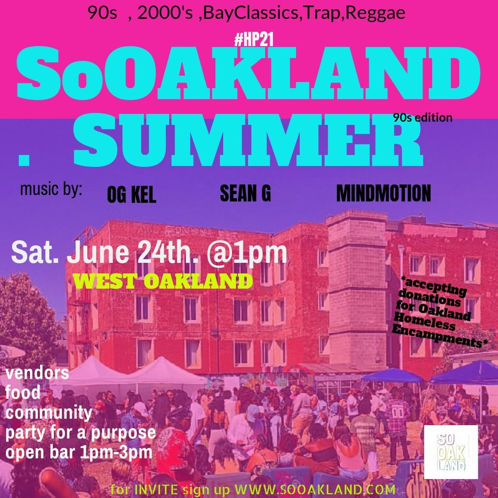 ITS SUMMER TIME AND LETS CELEBRATE THE SOOAKLAND WAY....