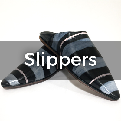 Hand Painted Slippers