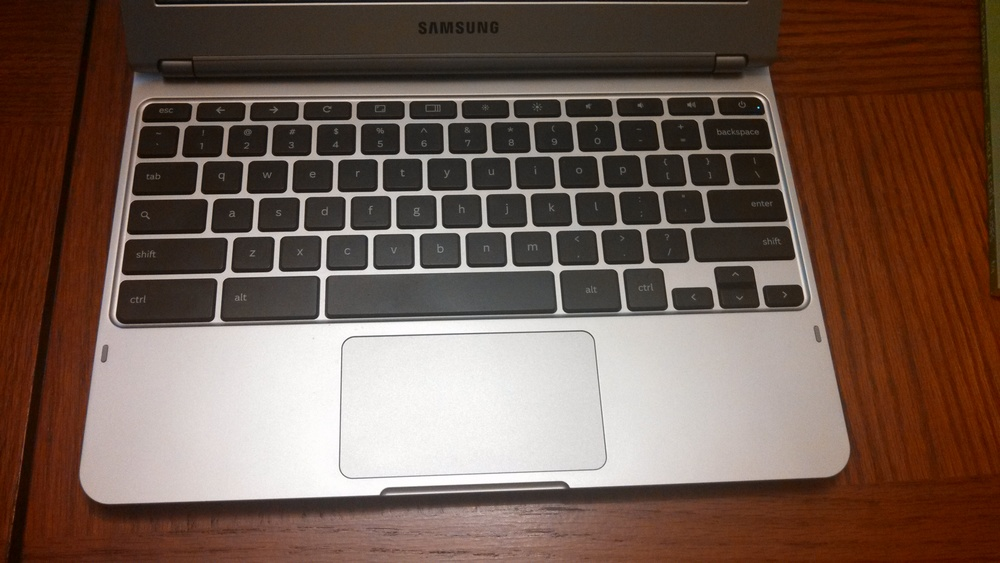 Samsung ChromeBook Keyboard