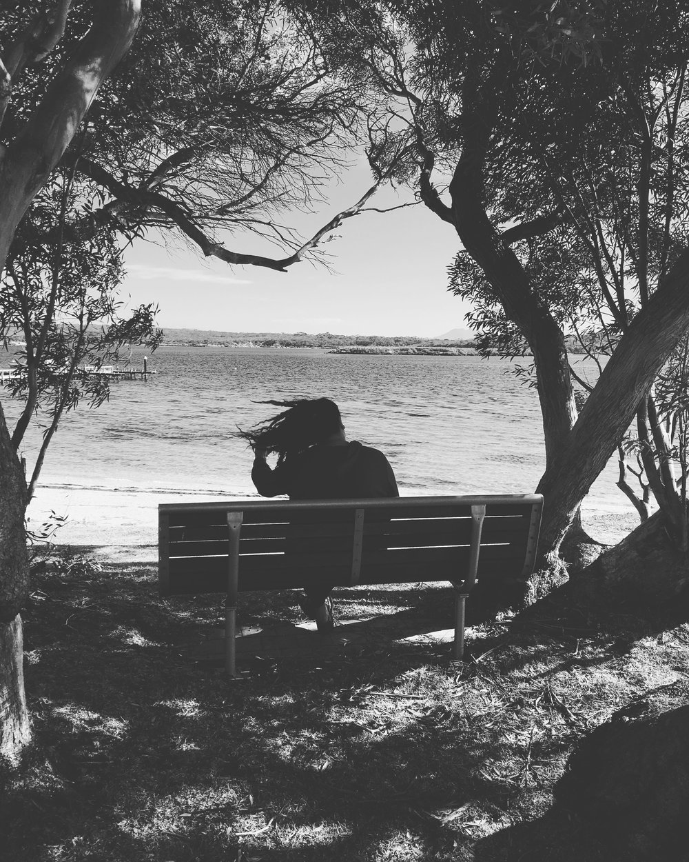 Lets sit by the sea as the wind whispers reminders of how we are all connected.