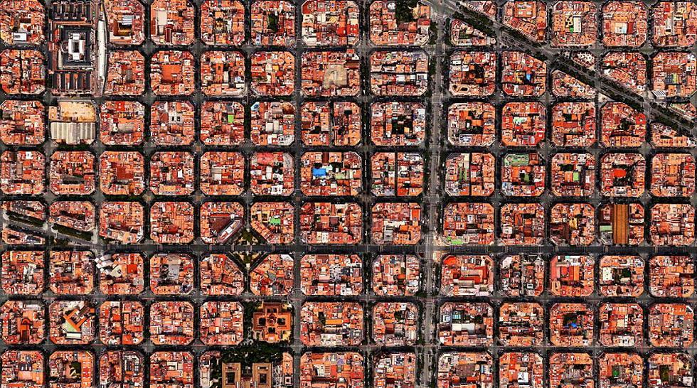 4.  小街区    街区大小应不超过2公顷,70%的街区应  符合这一标准,但是工业区可以除外。