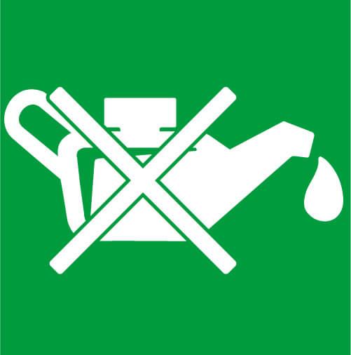 Ecologici e puliti - I nostri elevatori elettrici rispettano l'ambiente perché non utilizzano nessun tipo di olio, nemmeno come lubrificante per le guide di scorrimento.