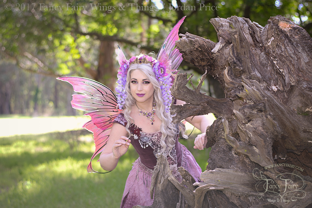 Wisteria Fairy Hide & Seek in Aphrodite Fairy Wings