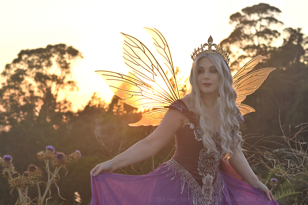 Thistle Fairy Queen in Aynia Fairy Wings