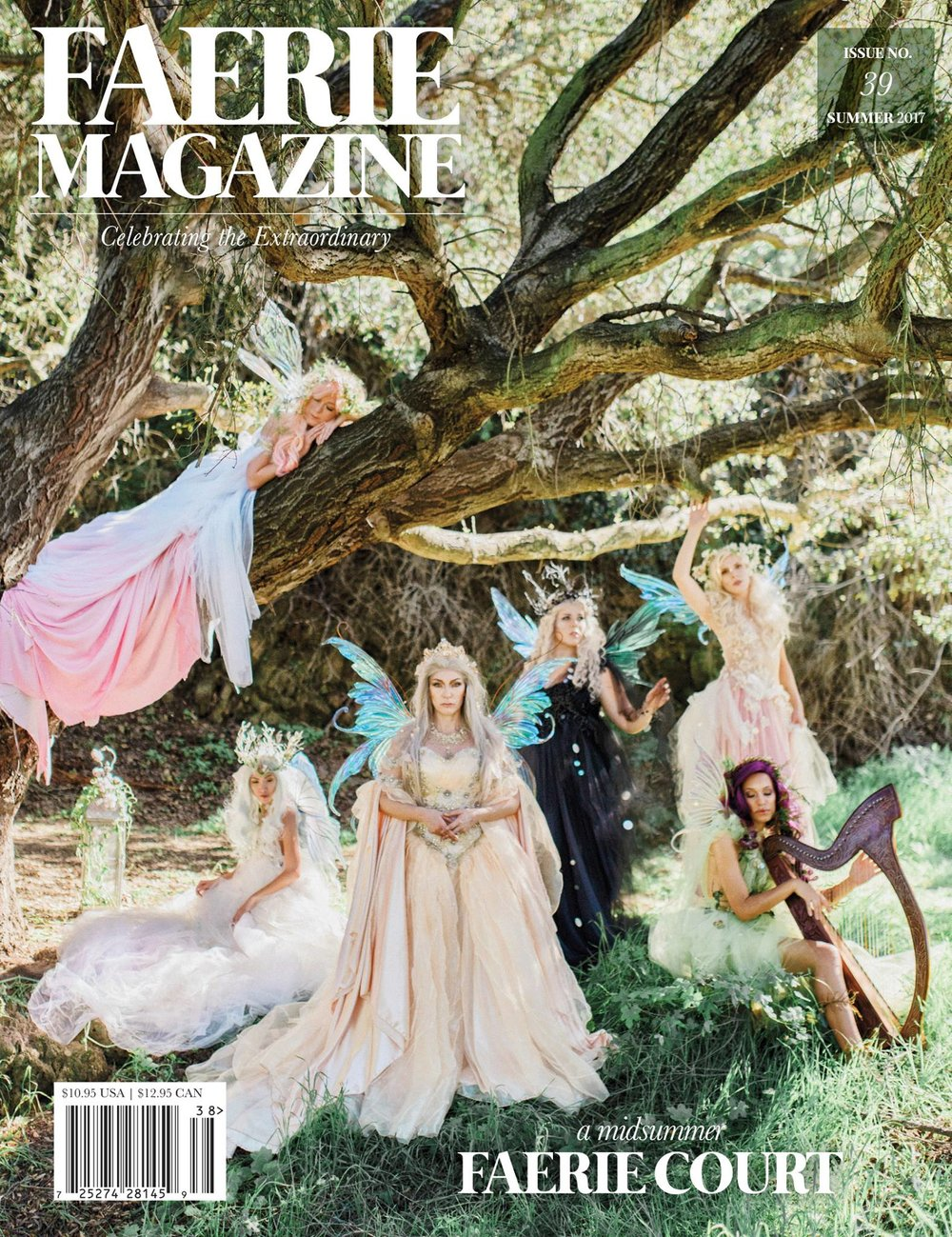 Faerie Magazine Cover, Summer Issue