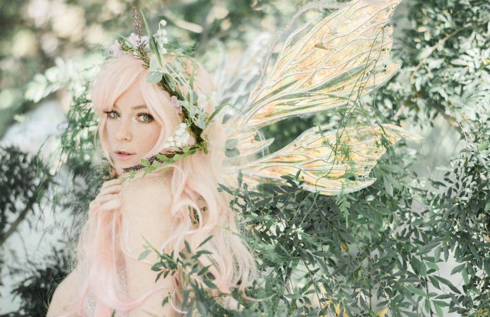 Peachblossom Fairy Jessica Dru for Faerie Magazine