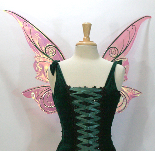 Tink Fairy Wings pink