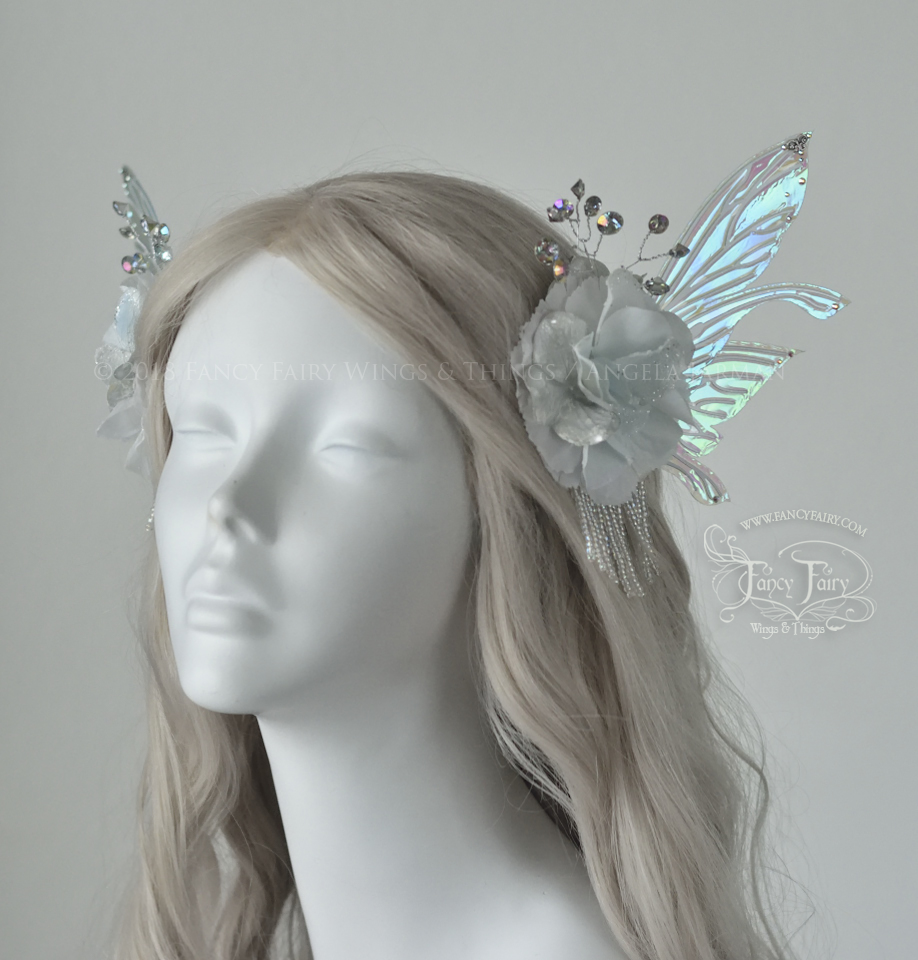 Winter Salome Fairy Hair Clips, $165
