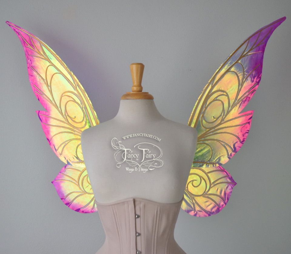 "26 inch Trinket ""Spring Blossom"" wings"