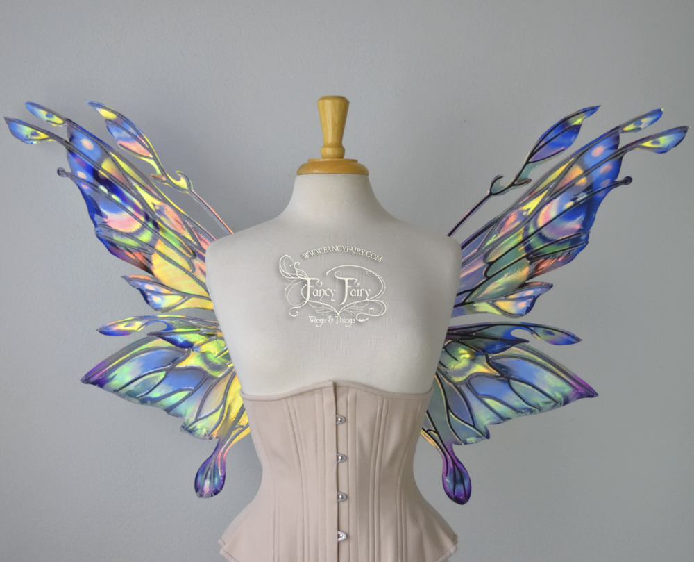 Lilac Breasted Roller Bird inspired fairy wings