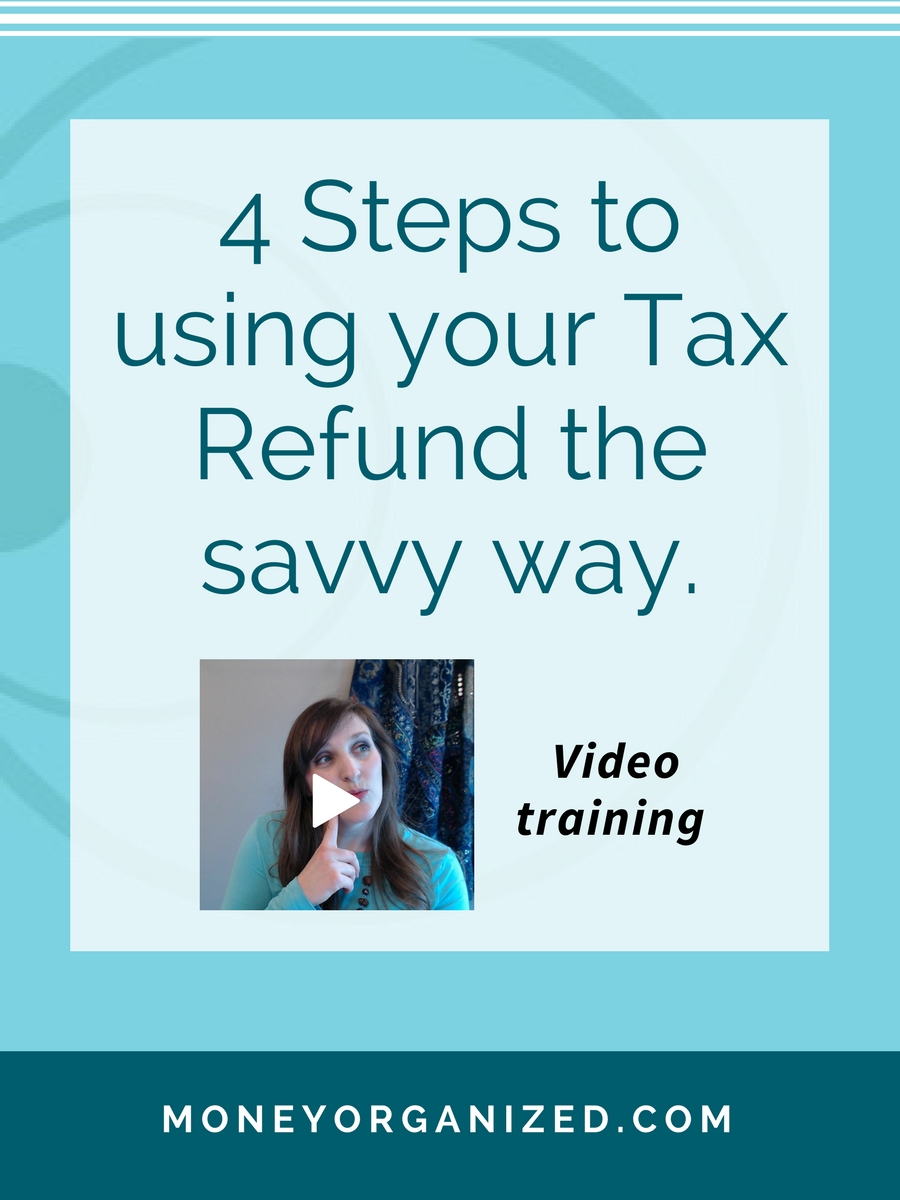 It's tax season time!!! But how do you determine what to do with your tax refund? Here is my 4-step process for Appropriately and Wisely spreading the wealth around so you get the biggest bang for your (tax refund) buck.