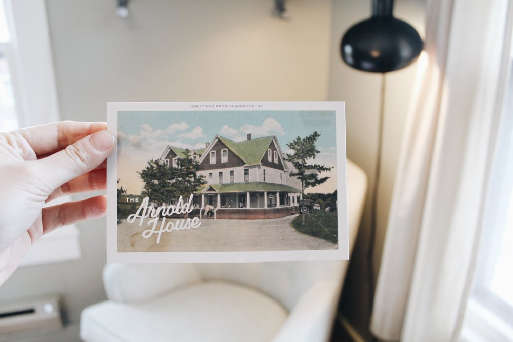 The Arnold House Postcard Vintage Sophie Chan Andreassand