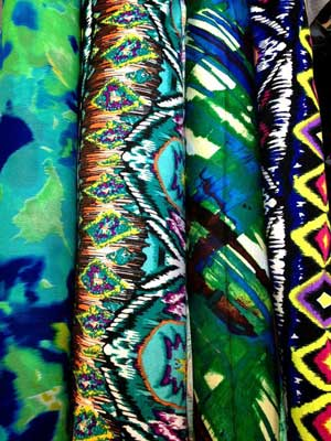 Stretch Prints $3.99/yd