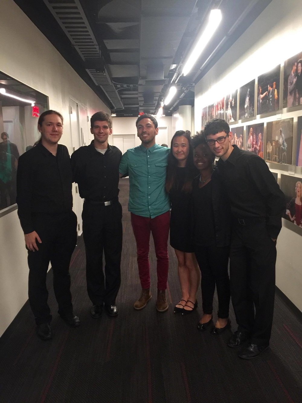 My quintet, with composer Erik Maloy!