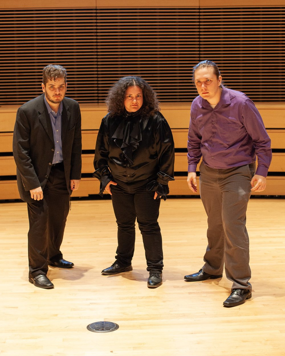 """The Apparition"" dream team. Jeremy Vigil, Ammon Swinbank, and myself. Photo Credit: Eric Snoza"