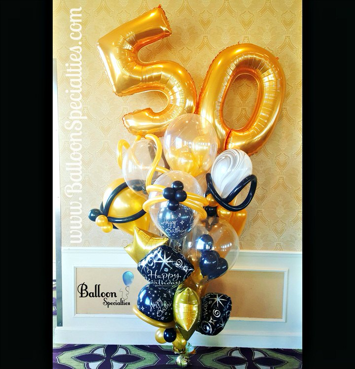 Birthday Balloon Bouquets Specialties