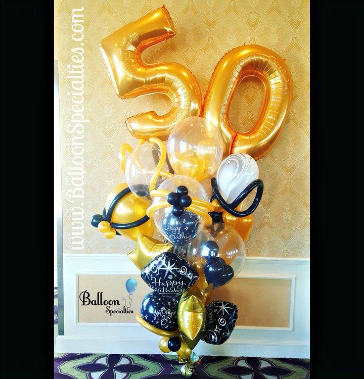 Birthday Balloon Bouquets Specialties