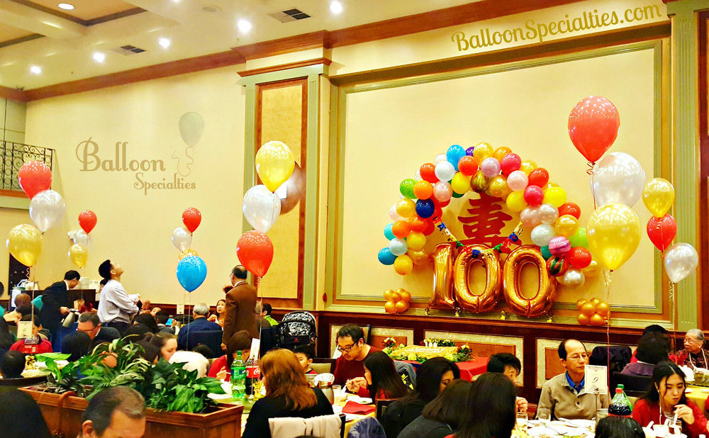 Sets of birthday balloons and Number Balloons San Francisco.jpg