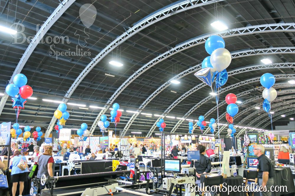 Balloon sets with mylar Sonoma Convention Center www.Balloon Specialties.com.jpg