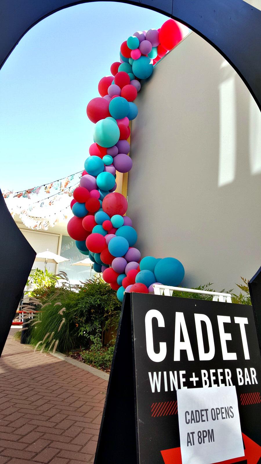 Cadet Wine Bar Balloon Garland Side View.jpg