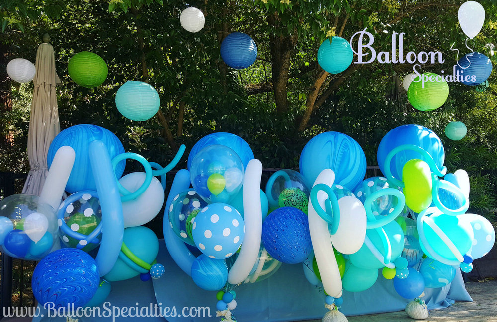 Fairmont Sonoma Specialty Balloon Bouquets Beach Theme Zim Balloon Specialties.jpg